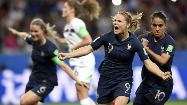 FIFA WWC: France overcome own goal to beat Norway
