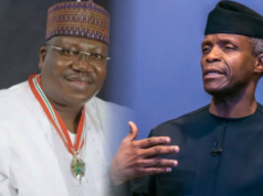 Lawan meets Osinbajo, says NASS, Executive relationship will be good