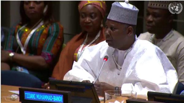 UNGA: Muhammad-Bande's emergence shows confidence in Nigeria -FG