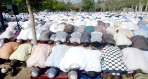 It is Eid-el-Fitri and Nigerian muslims celebrate