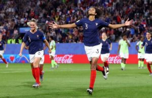 FIFA Women's W/Cup: Nigeria see red, lose 0-1 to France