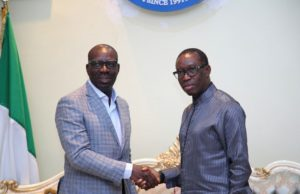 Okowa, Obaseki brainstorm on socio-economic ties