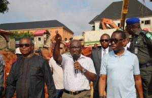 Delta: More drainage projects coming, Okowa assures