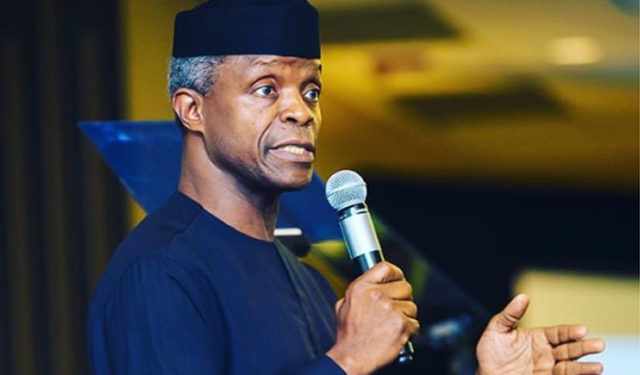 How we plan to take 100m Nigerians out of poverty —Osinbajo