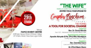 'The Wife' holds Couples Luncheon in Epe, Lagos