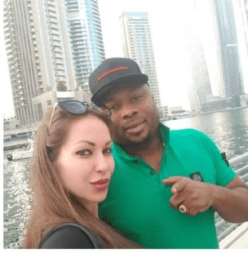 Tonto Dike's ex-husband gets new lover
