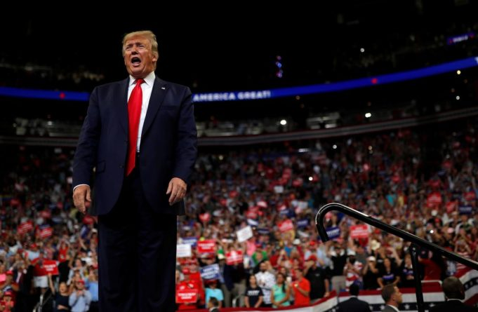 Donald Trump formally launches 2020 re-election bid