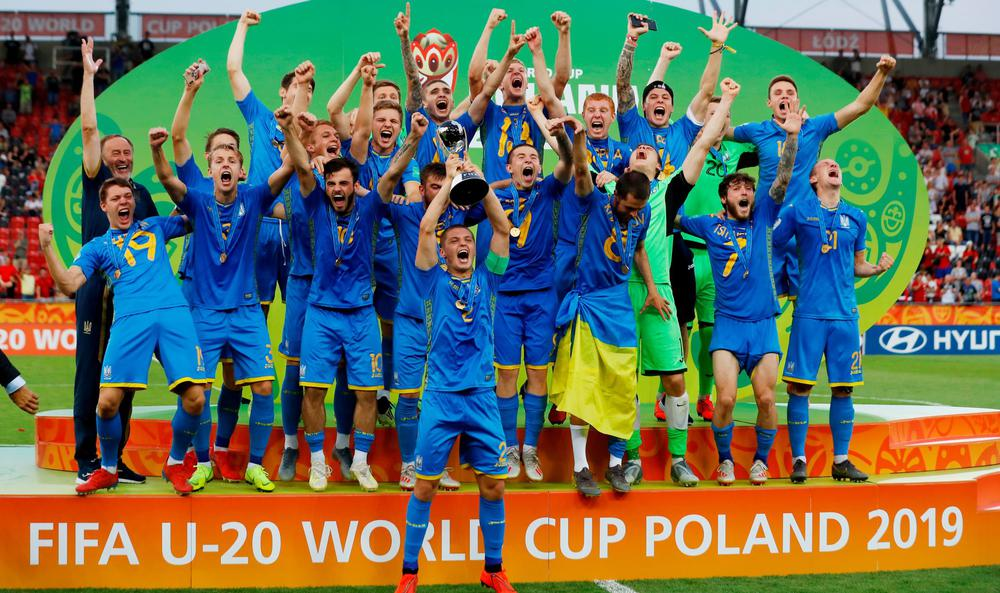 Ukraine wins first FIFA U-20 World Cup title