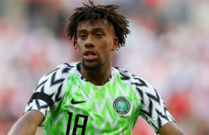 AFCON: How Nigeria will ignore favourites tag in match with Algeria -Iwobi
