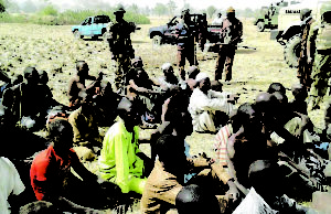 Army hands over 151 repentant Boko Haram insurgents to Borno govt