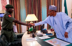 Buhari approves accelerated promotion of two Army officers, subaltern