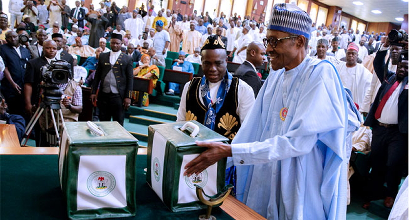 BREAKING: Buhari to present 2021 budget next week, Senate receives PIB