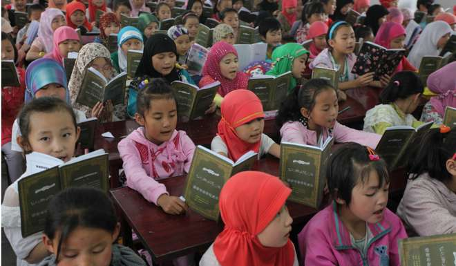 China separating Muslim children from families