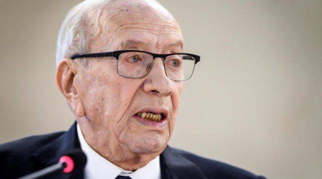 President Essebsi of TunIsia dies aged 92