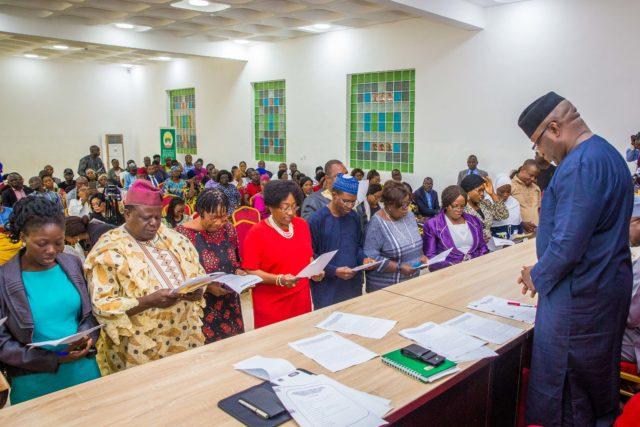 Fayemi begins war against gender-based violence, sets up committee