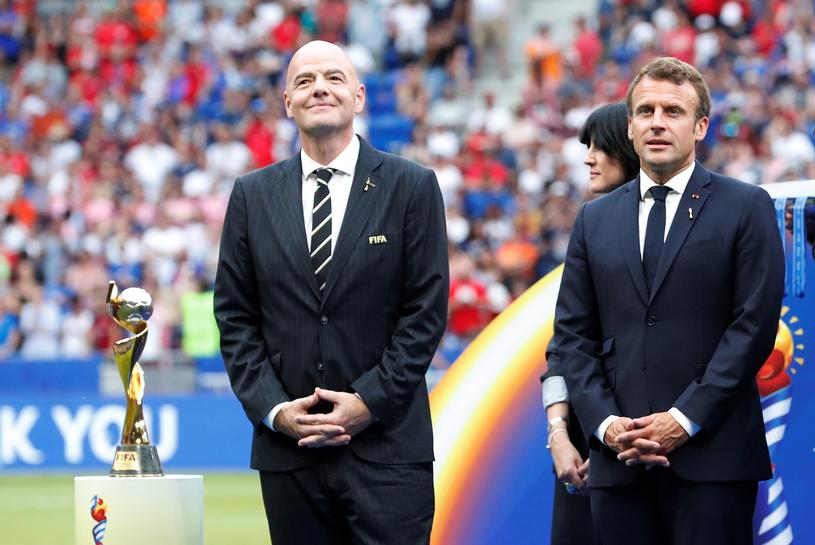 Why French president, FIFA boss Infantino were booed in Lyon