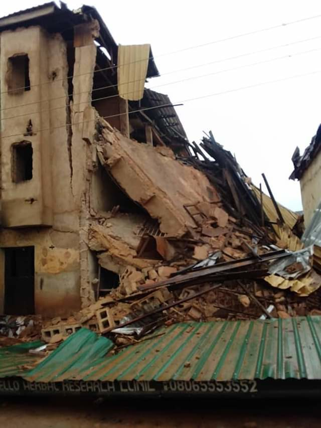 Building collapse: Urgent need to enforce safety standards -Buhari
