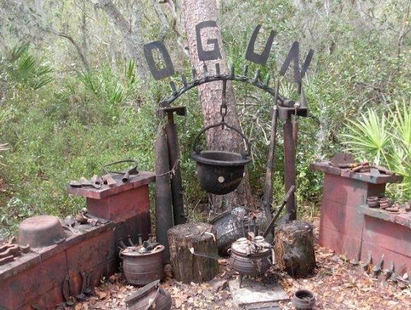 Origin of Ogun gods of Iron