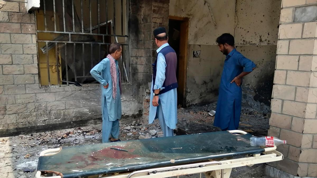 Suicide bomber hits hospital kills eight people, injures 22