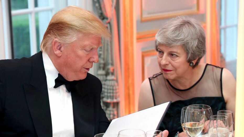 Brexit: Trump calls Theresa May 'foolish'