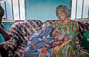 Fayemi's wife provides lifeline for Mama Osho, 110-year old woman