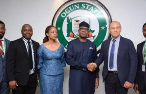 PHOTO NEWS: Ogun gov, Dapo Abiodun meets S&W Corporation