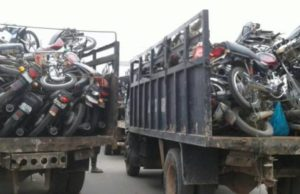 Oyo: 395 vehicles, 60 motorcycles impounded in about seven months