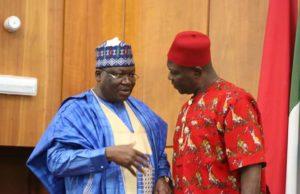 Lawan to Ekweremadu: Don't be deterred in your service by IPOB attack