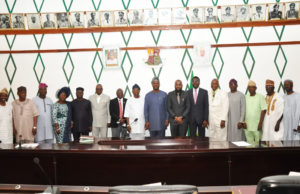 PHOTO NEWS: Makinde swears in new commissioners