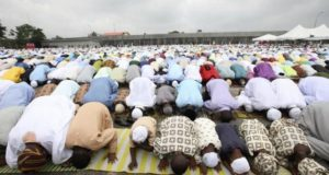 Muslims celebrate Eid-el-Kabir, Feast of Sacrifice