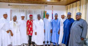'Sallah' homage: Senate leadership at home with Buhari