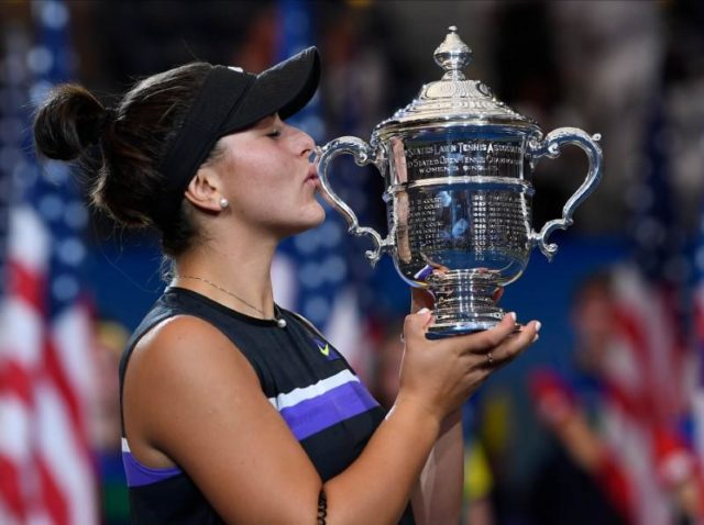 Andreescu beats off Williams' comeback to win U.S. Open