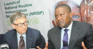 Bill Gates opened my eyes to healthcare issues in Nigeria –Dangote