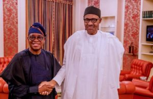 Oyetola at 65: Thanks for improving infrastructure, others -Buhari