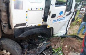 Accidents: FRSC restricts Dangote trucks, threatens to impound them