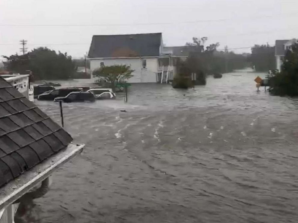 Hurricane Dorian floods island as it swipes North Carolina, heads north