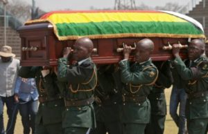 Mugabe now to be buried in new mausoleum in October