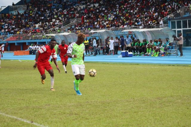 Nigeria humble Sudan 5 nil to qualify for Under-23 AFCON