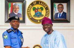 Insecurity: What Sanwo-Olu told IGP Adamu in Lagos State