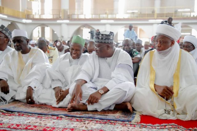 PHOTO NEWS: Lawan, Sultan, others at Independence Day prayer