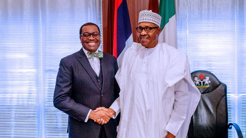 AfDB: Buhari hosts Adesina in Abuja, vows to stand by him