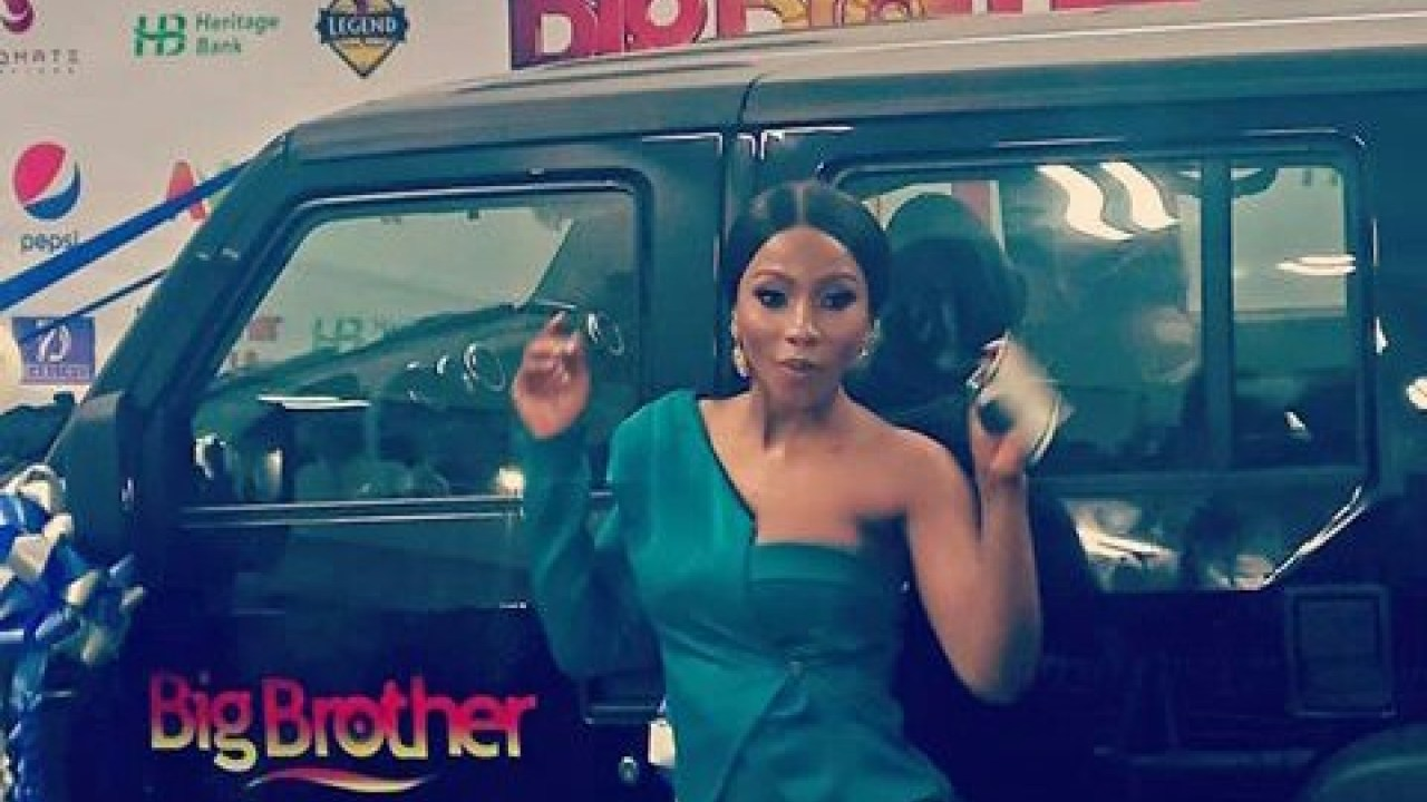BBNaija (S4): Mercy receives N25m SUV by Innoson Motors