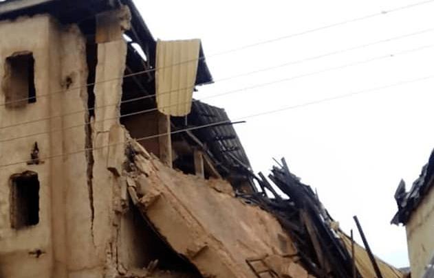 Three-storey school building collapses in Lagos