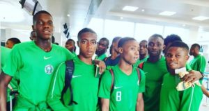 Golden Eaglets land in Brazil for FIFA World Cup
