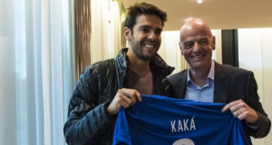 Kaka visits Home of FIFA, states real reason for it