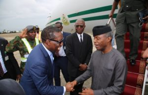 War against poverty: Osinbajo, Okowa call for collaborative efforts