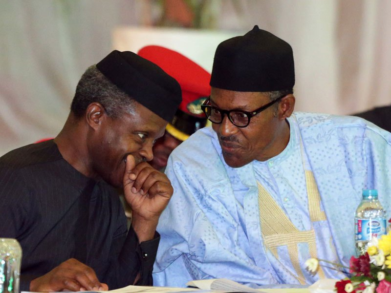 Buhari speaks on reduction of aides of Vice President Osinbajo