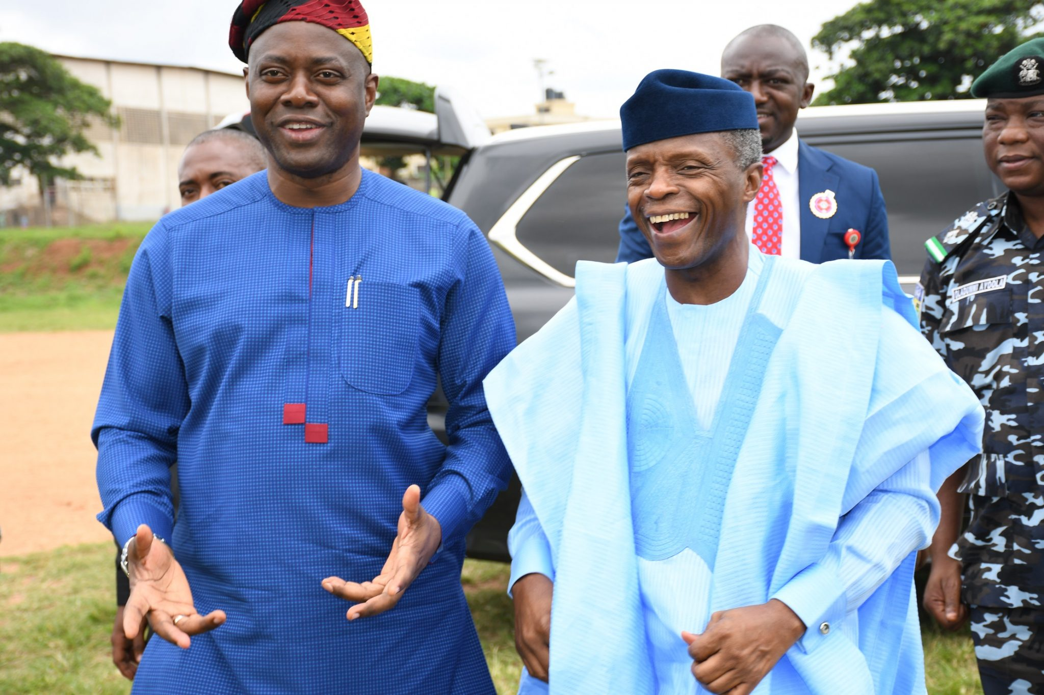 Oyo: Makinde's free education policy commendable —Osinbajo