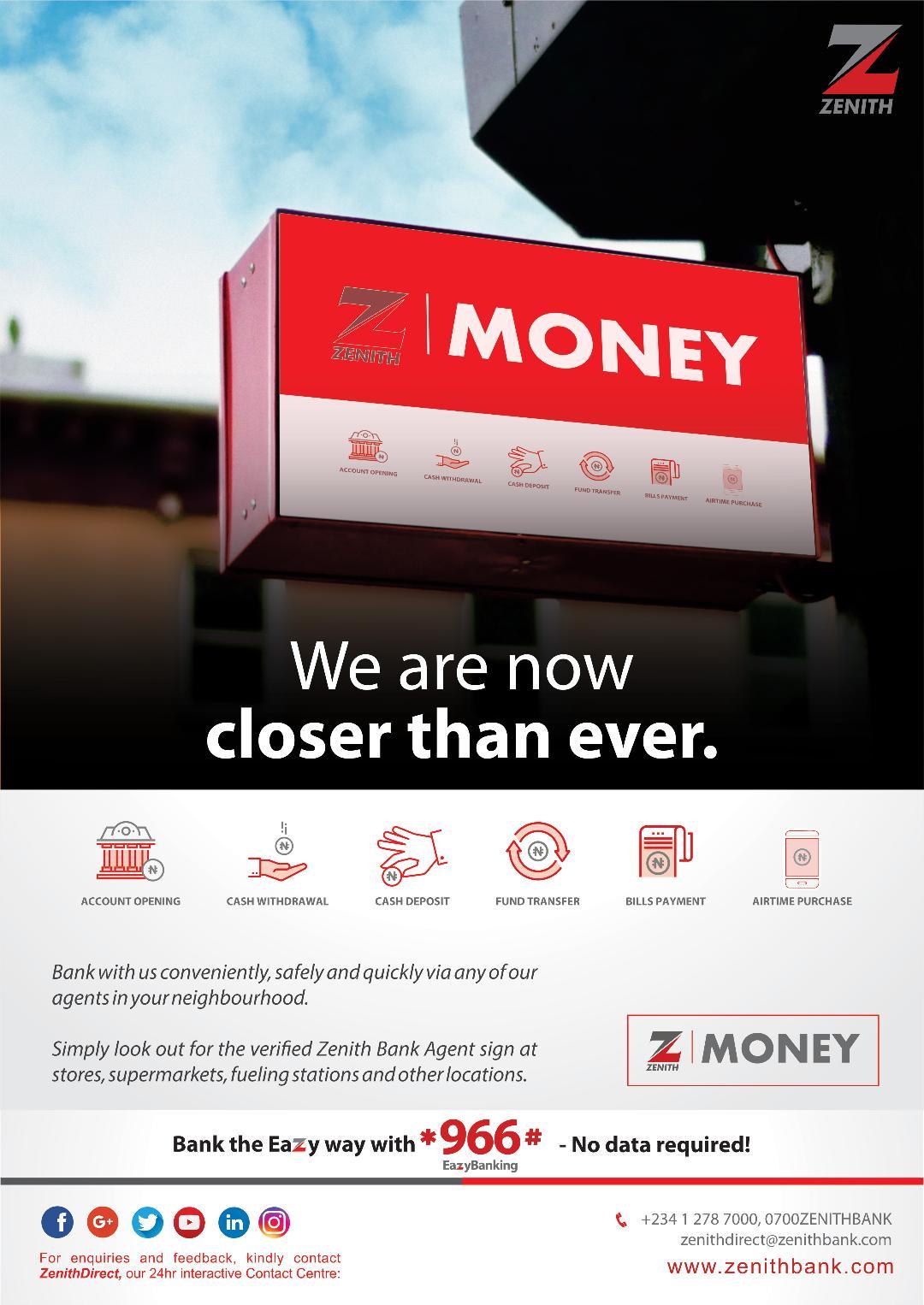Z-Money: Zenith Bank drives convenient banking, financial inclusion