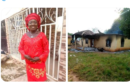 Salome Abuh, PDP woman leader burnt to death, buried amid tears